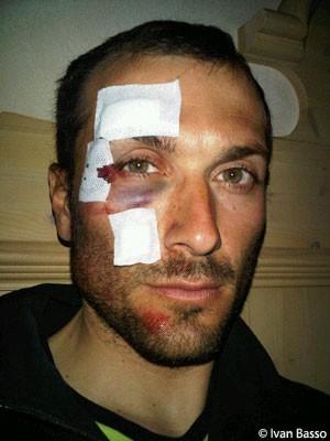 Ivan Basso Crash