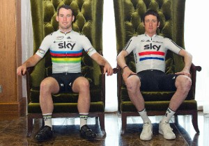 mark cavendish,bradley wiggins