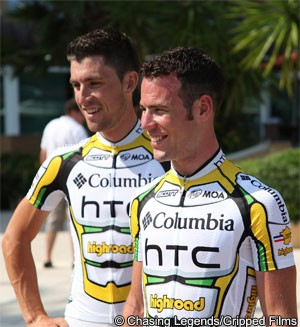 Bernhard Eisel Mark Cavendish