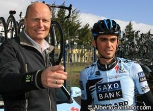 Bjarne Riis Alberto Contador
