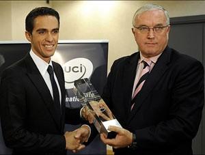 Alberto Contador Pat McQuaid