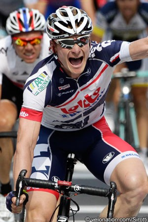 Tour de France  André Greipel makes it three as the shattered ... 053c65a17
