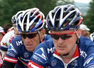 Floyd Landis Lance Armstrong