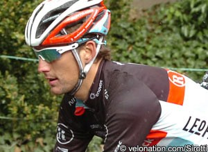 Photo: Andy Schleck was more prominent yesterday.