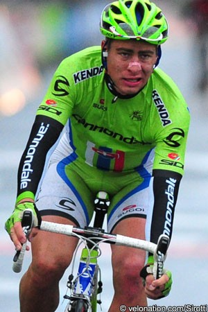 Photo: Peter Sagan has lined out in the Tour of California.