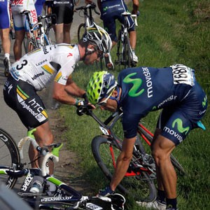 Ventoso and Cavendish crash