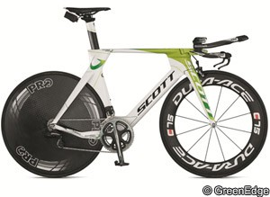 Tech: GreenEdge unveils Scott road and TT bikes for 2012 ...