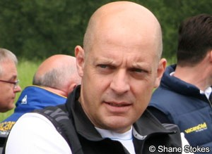 Photo: Brailsford says Wiggins is unhurt.