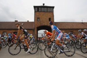 Peloton at Auschwitz