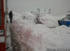 Volta a Catalunya snow