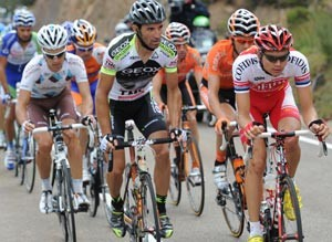 Vuelta 2011 break stage 14