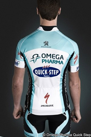 Omega Pharma Quick Step jersey