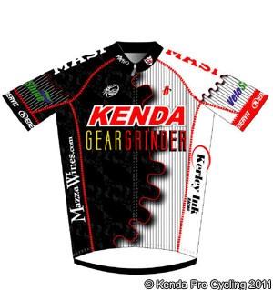 Kenda Pro jersey 2011