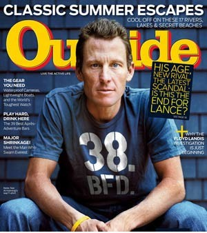 Lance Armstrong - Outside Magazine