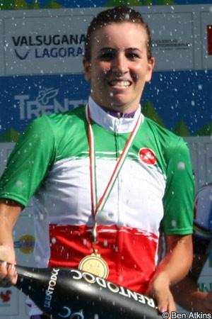 Giada Borgato solos to a surprise Italian road race titleGiada Borgato